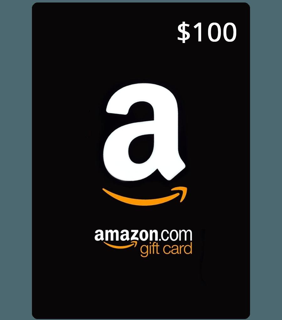 amazon card 100