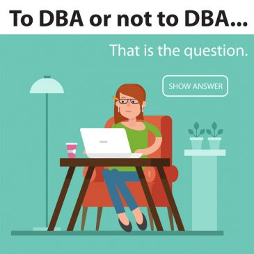 To DBA or Not To DBA – That is the question