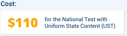 for the National Test with Uniform State Content (UST)