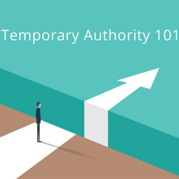 Temporary Authority 101
